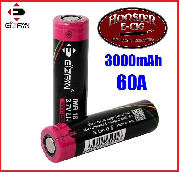 EFAN 3000mAh 60A 18650 IMR battery