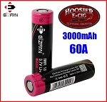 EFAN 3000mAh 60A 18650 IMR battery