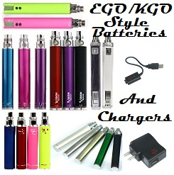 KGO/EGO style batteries and chargers
