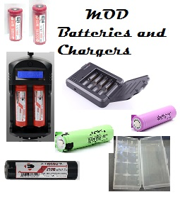MOD Batteries and chargers