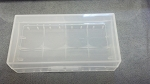 Plastic battery Box 2x18650