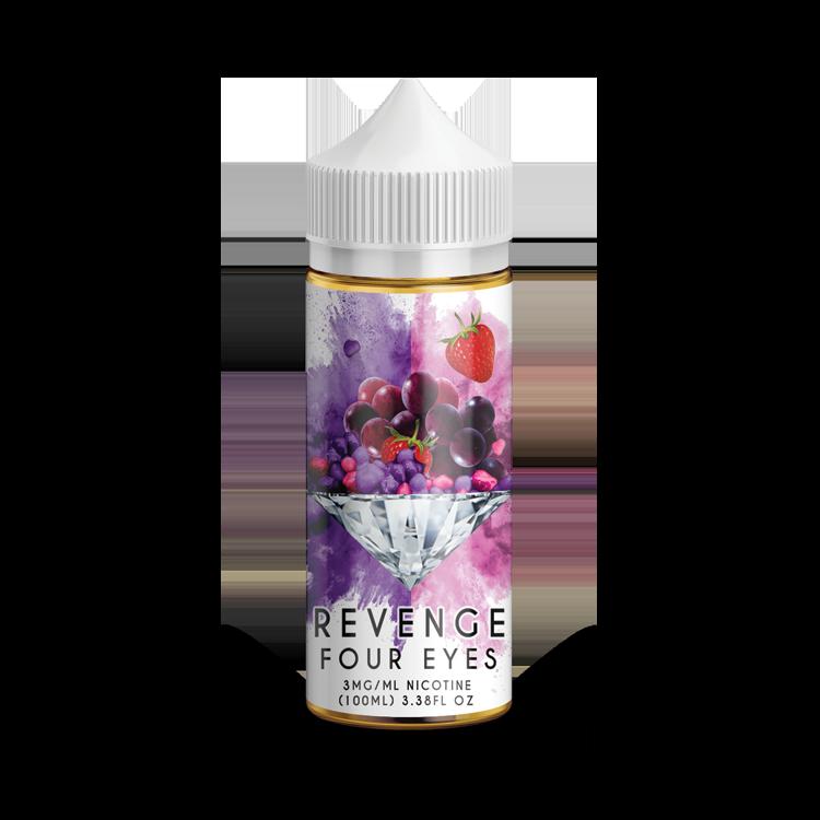100ml Revenge Four Eyes by Diamond Vapor