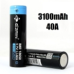 EFAN 3100mAh 40A 18650 IMR battery