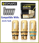 Atom Vapes G Clapton Coils for Arctic Tank