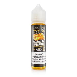 60ml Cannoli Be Breakfast by Cassadaga