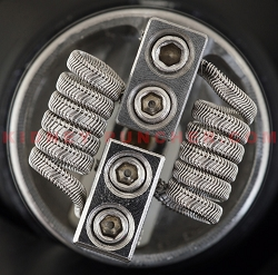 Kidney Puncher Alien Framed Staple 28/.4/36 .1ohms 3mm 6-Wrap Pair #5
