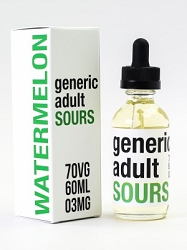 60ml Watermelon by Generic Adult Sours