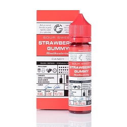 60ml Strawberry Gummy by Glas Basix