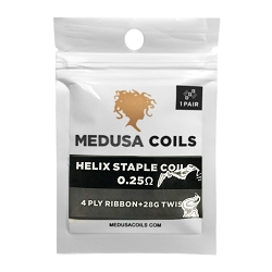 Helix Staple Pack by Medusa Coils