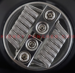 Kidney Puncher N80 Staggerton 30/.3/40 .25ohms 3mm 8-Wrap  #42