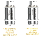 Nautilus X Tank Replacement Coils by Aspire