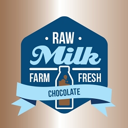 100ml Chocolate by Raw Milk