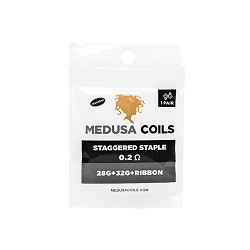Staggered Staple Pair by Medusa Coils