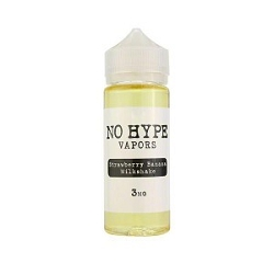 120ml Strawberry Banana Milkshake by No Hype