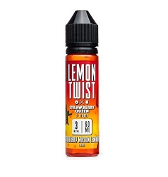 60ml Strawberry Mason Lemonade by Lemon Twist