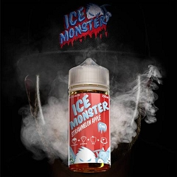 100ml Strawmelon Apple by Ice Monster