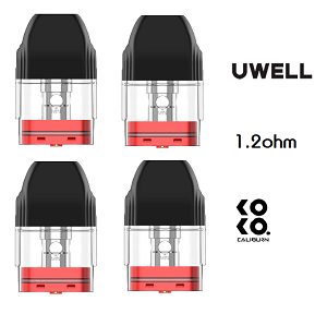 Uwell Caliburn KoKo 1.2ohm Replacement Pod 4-Pack