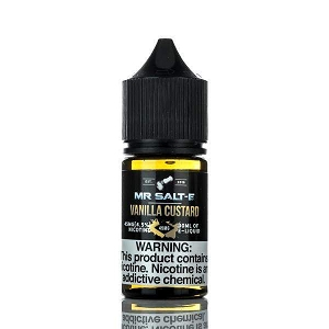 30ml Vanilla Custard by Mr. Salt-E