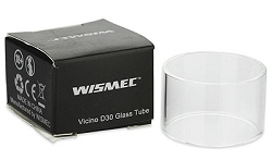 Replacement glass for Wismec Vicino D30