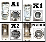 Smok replacement coils for VCT series