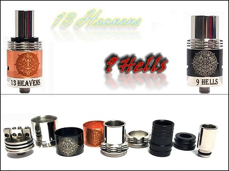 Authentic 13 Heavens 9 Hells RDA by Comp Vape