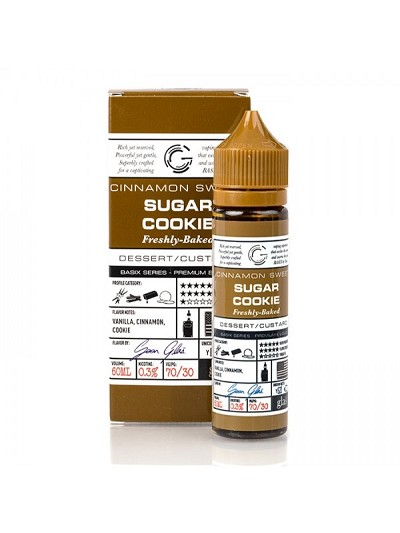 60ml Sugar Cookie by Glas Basix