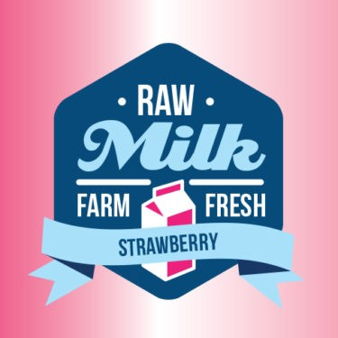 100ml Strawberry by Raw Milk