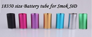 18350 size replacement battery tube for Smok SiD APV