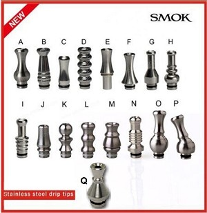 Stainless Steel Drip Tips From Smok Tech