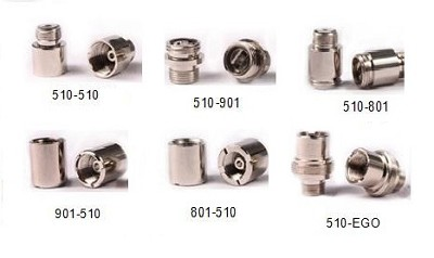 adapters for different thread types.