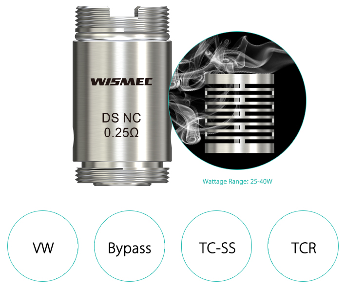 Wismec DS series coil for Orma and Motiv