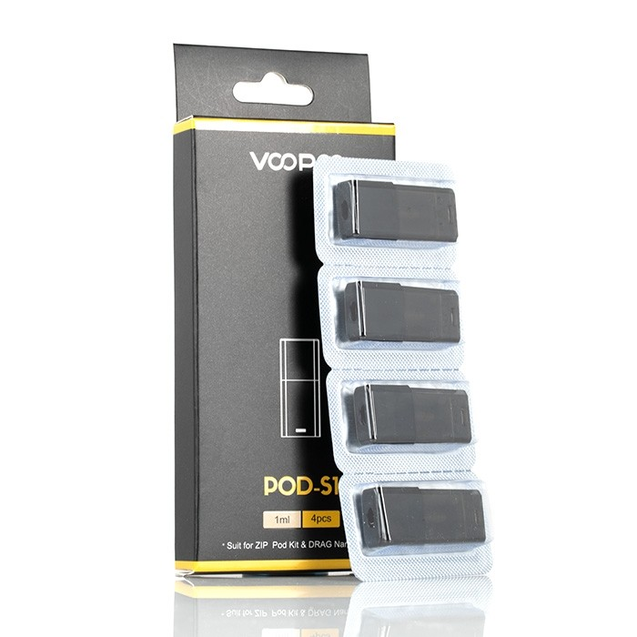 VooPoo Drag Nano Replacement Pods 1ml 4-Pack