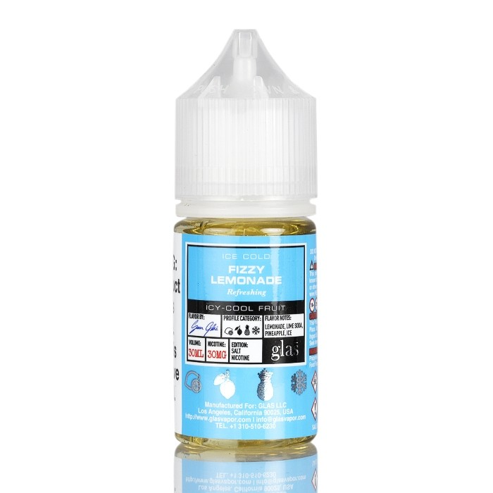 30ml Fizzy Lemonade by Glas Basix Salts