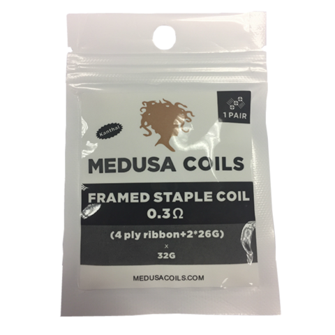 Framed Staple Clapton Pack by Medusa Coils