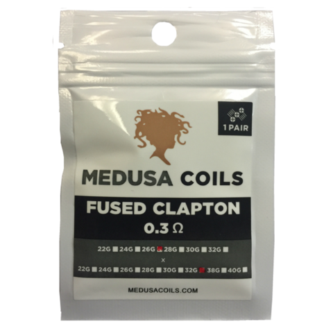 Fused Clapton Pack by Medusa Coils