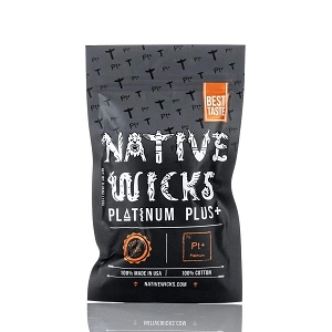 Native Wicks Platinum Plus Cotton