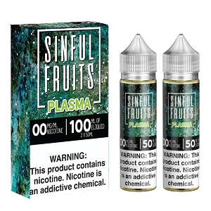 100ml Plasma by Sinful E-Liquids