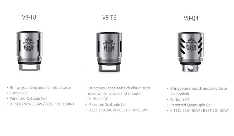 Replacement Coil for Smok TFV8 tanks