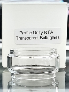 6ml Bubble(bulb) Expansion Glass For Wotofo Profile Unity RTA(Plain White Box Packaging)