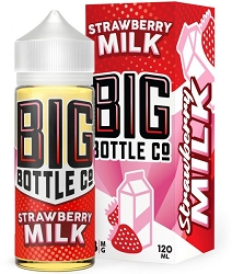 120ml Strawberry Milk by Big Bottle Company