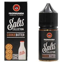 30ml Cookie Butter By Propaganda Salt Collection