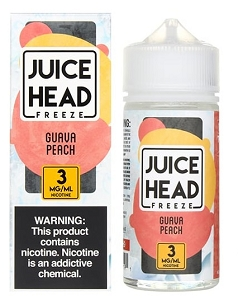 100ml Guava Peach Freeze by Juice Head