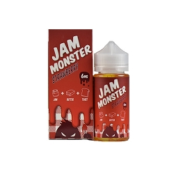 100ml Strawberry by Jam Monster