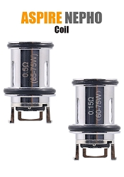 Aspire Nepho Replacement Coils 3-Pack
