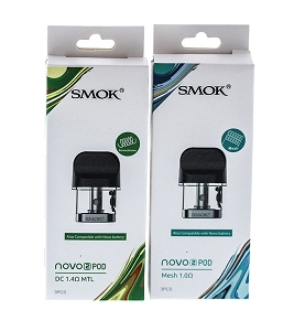 Smok Novo 2 Replacement Pod 3-Pack