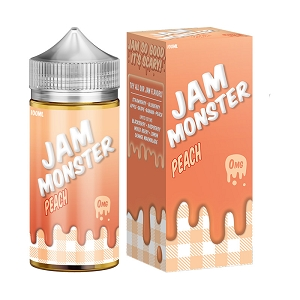 100ml Peach by Jam Monster