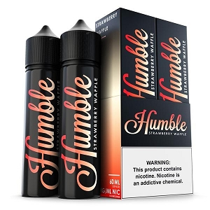 120ml Strawberry Waffle by Humble