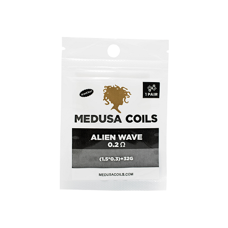 Alien Wave Pair by Medusa Coils