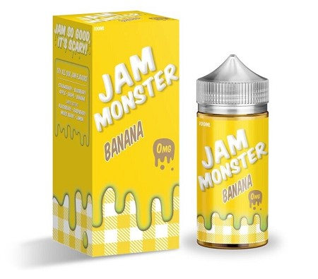 100ml Banana by Jam Monster