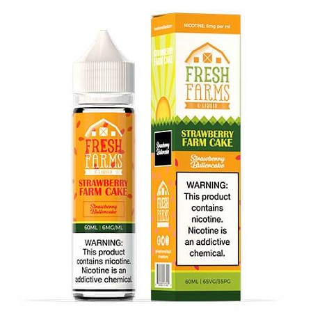 60ml Strawberry Farm Cake by Fresh Farms